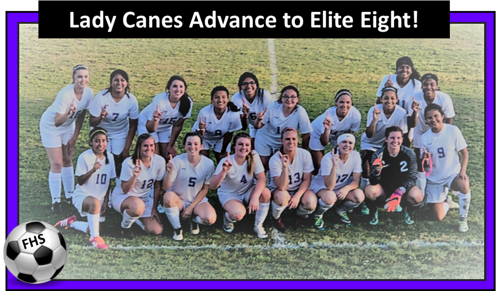 Lady Canes Soccer Team Win First Place in Region & Advance in the AA State Playoffs!